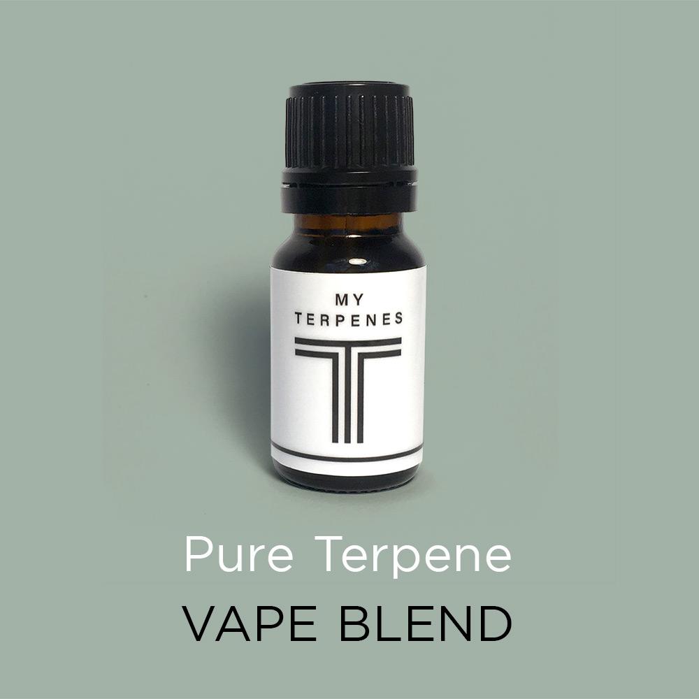 Pure terpene vape blend - 10ml